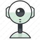 camera, reality, virtual, webcam icon