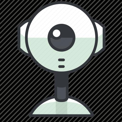 camera, reality, virtual, webcam icon