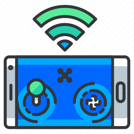 Control, mobile, phone, remote, wireless icon - Download on Iconfinder