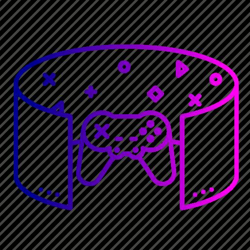 game, gaming, oculus, reality, simulator, virtual, vr icon