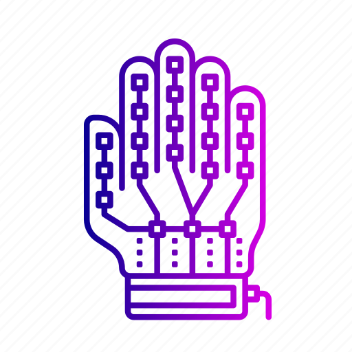 control, controller, gadget, gaming, glove, hand, virtual reality icon