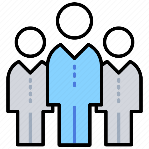 company, group, organization, people, team members icon