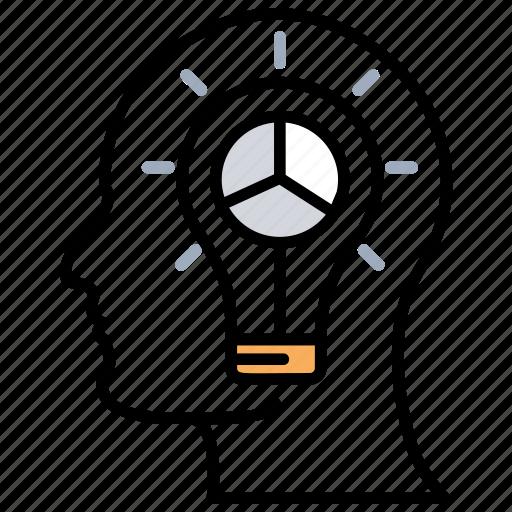 brainstorming, creative mind, creative solution, innovative idea, strategic thinking icon