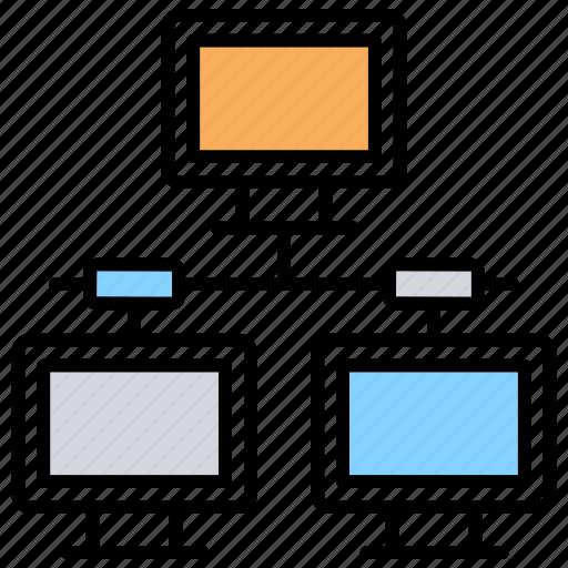 client server, computer sharing, hosting server, internet sharing, sharing network icon