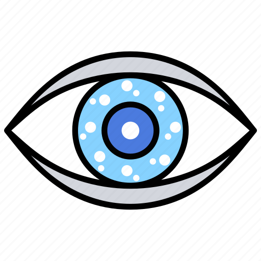 ar contact lenses, ar vision, augmented reality, smart contact lenses, virtual reality icon
