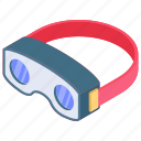 augmented reality, oculus, oculus rift, vr glasses, vr headset icon