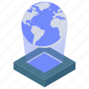 3d image, hologram, hologram dock, holographic image, holographic record icon