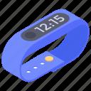 fitness band, fitness tracker, health tracker, smart watch, wearable tech icon