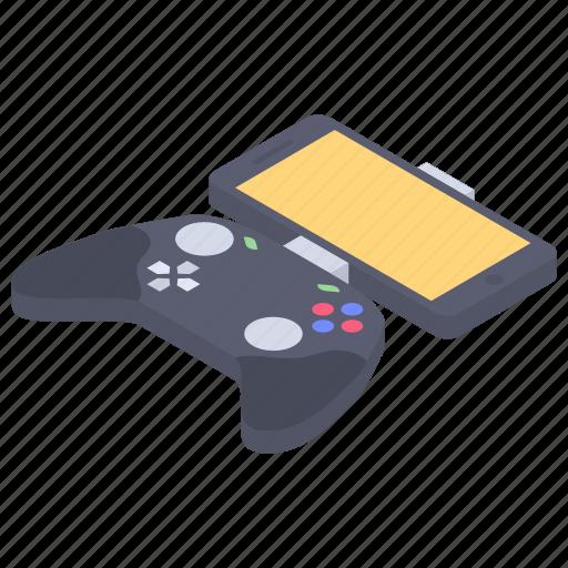 dualshock, game technology, joystick, phone controller, playstation, vr gamepad icon
