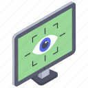 ar eye, augmented reality, eye tracking, eye-tap augmentation, retina tracking, smart eye, virtual reality icon