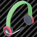 computer headset, earphone, headphone, headset with mic, wireless headset icon