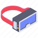 augmented reality, gadget, oculus, oculus rift, vr glasses, vr headset icon