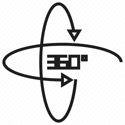 angle, rotate icon