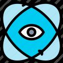 reality, virtual icon
