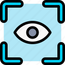eye, scanner icon