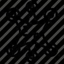 artwork, connection, corner, desibn, joint, master, piece icon