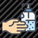 hand, clean, wash, antiseptic, sanitizer, gel, virus