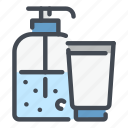 sanitizer, hand, clean, cream, antiseptic, gel