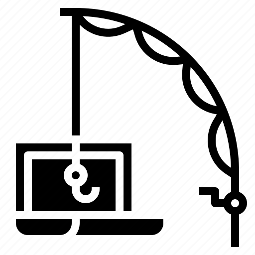 concept, crime, internet, malware, phishing icon