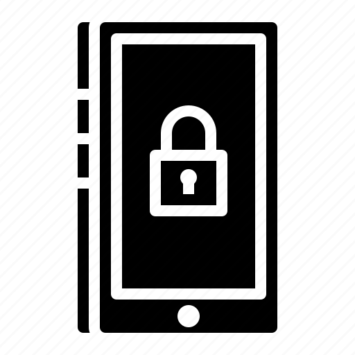 internet, mobile, phone, security, technology icon