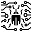 background, crime, internet, terrorism, web icon