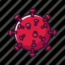 covid, coronavirus, bacteria, virus
