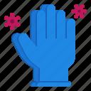 coronavirus, covid, glove, hand, protect, touch, virus