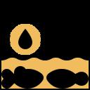 bacteria, contaminated, pollution, virus icon