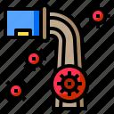 waste, virus, transmission, crime, attack