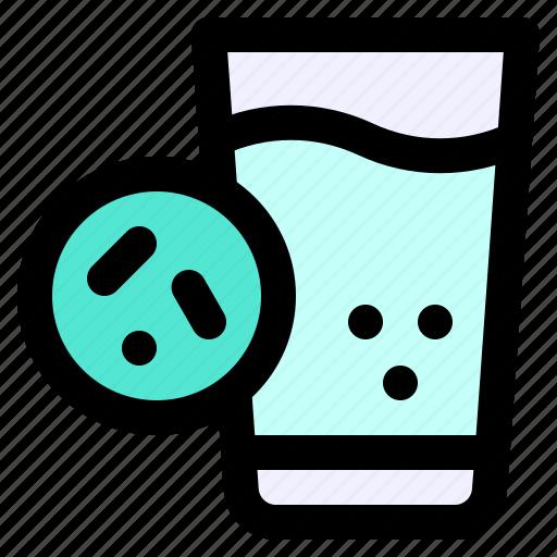 Carier, drinks, germ, glasses, transmission, virus, water icon - Download on Iconfinder