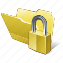category, folder, locked, open icon