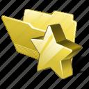 category, favorite, folder, open