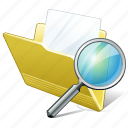 document, file, folder, search