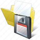 document, file, folder, save icon