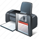 guardar, print, printer, save icon