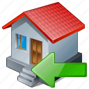 building, home, house, import icon