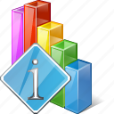 analytics, bar, chart, graph, info, statistics, stats icon