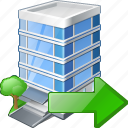 building, business, export, house, office icon