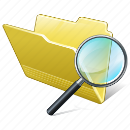 category, folder, open, search2 icon