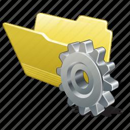 category, folder, open, settings icon