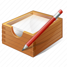 box, documents, edit, office, paper icon