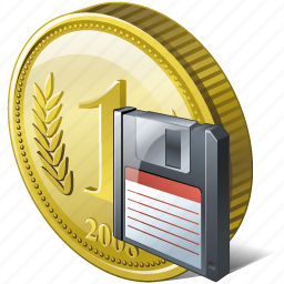 coin, guardar, money, payment, save icon