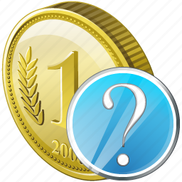 coin, money, payment, question icon