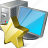 computer, desktop, favorite, monitor, pc icon
