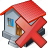 building, delete, home, house icon