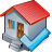 building, home, house, ok icon