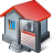 building, guardar, home, house, save icon