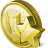 coin, favorite, money, payment icon