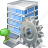 building, business, house, office, settings icon