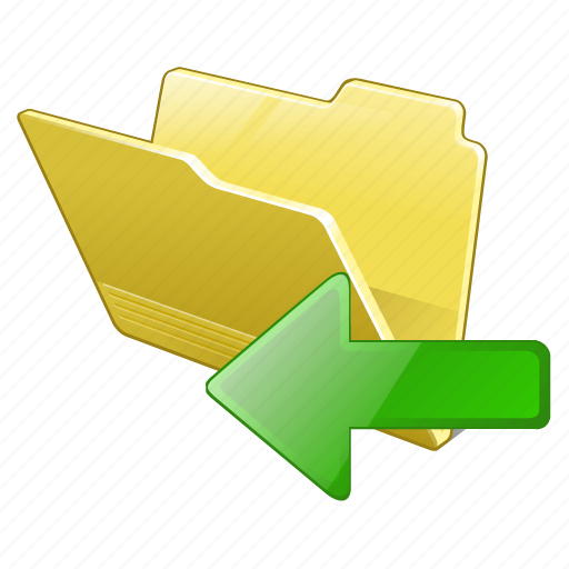 category, folder, import, open icon